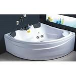 APPOLLO Угловая акриловая ванна с гидромассажем, 150х150