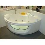 APPOLLO Угловая акриловая ванна с гидромассажем, 140х140