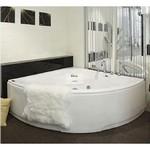 APPOLLO Акриловая ванна с гидро аэромассажем, 150*150 см