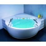 APPOLLO Угловая акриловая ванна с гидро и аэромассажем, 183x183 см